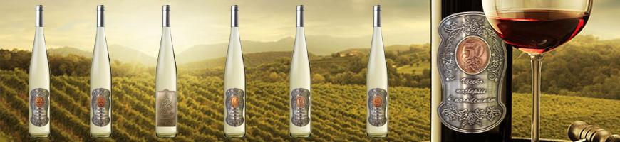 Darčekové vína kovová etiketa